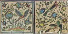 Antique persian tiles