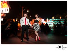 Ashley & Steve's Disney E-Sesh | California Engagement Photographer | The R2 Studio
