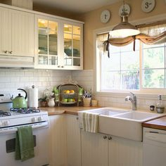 Great ideas for a small kitchen