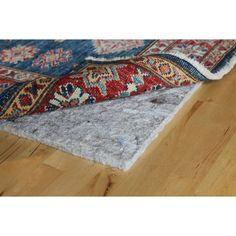 eco plush 12 luxury felt rug pad safe for all floors by rug pad usa 10x14 10x14 size 8u0027