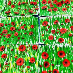 """Polubienia: 807, komentarze: 37 – Sandra (@sandramaternelle) na Instagramie: """"🌺POPPIES /COQUELICOTS🌺 J'attendais de les montrer à mes élèves chez Claude Monet pour leur en faire…"""" Claude Monet, Hash Tag, Art Plastique, Photos, Instagram, Spring, Painting, Copyright, School"""