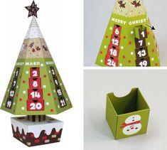 Christmas Time - Advent Calendar - Christmas Tree - by Canon