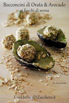 Riciclare il pesce: bocconcini di orata e avocado ai fiocchi di avena #ricetta di @elenafoodblog