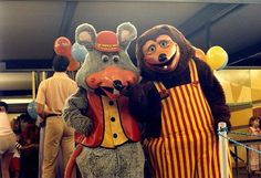 What do you think of Chuck E. Cheese's from back in the day?