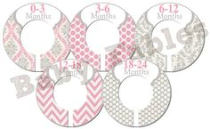 Items similar to Custom Closet Dividers - POSITIVELY PINK on Etsy