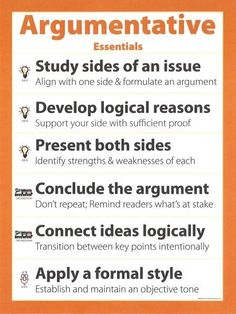 Writing Tips - Making an Argument in Writing - The Plain Language Programme