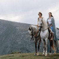 Photo by Maggie A. Ella Enchanted Movie, Anne Hathaway, Films, Horses, Tv, Couples, Disney, Animals, Movies