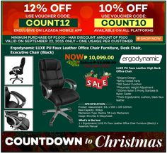 OFFICE FURNITURE SALE LAZADAS SUPER SEPTEMBER PROMO SAVE up to