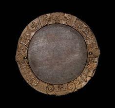 Divination tray, okoua-Ifa Yoruba early 20th century Wood