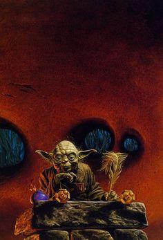 Yoda by Michael Whelan