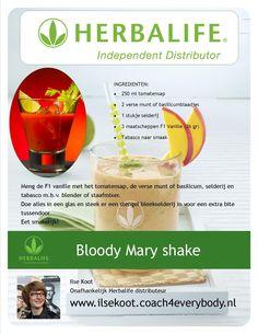 Bloody Mary shake #Herbalife