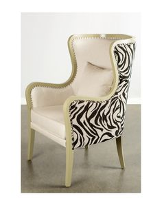 Spotted this Carla Wing Chair on Rue La La. Shop (quickly!).