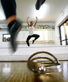 Cool camera angle - Sword dance practice #scottish #highland #dance #swords
