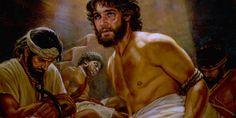José preso injustamente em uma masmorra com outros prisioneiros