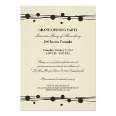 Printable Grand Opening Celebration invitation by DigitalLine NGC