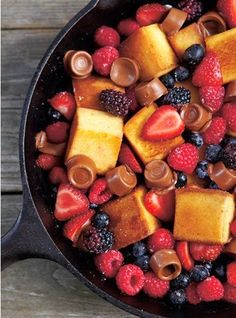 Just another yummy dessert from our collection of the best 23 camping desserts - ever!! #camping #dessert