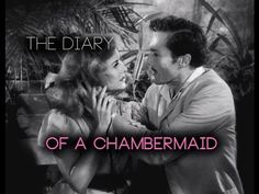 THE DIARY OF A CHAMBERMAID (1946) Paulette Goddard. Celestine, the chambermaid, decides to use her beauty to gseduce a wealthy man, but he is not a food choice since the house is firmly controlled by his wife. Then she tries seducing the neighbor. This seems to work. But soon the son of the  wealthy couple comes home. He is young, attractive. So Celestine's beauty attracts 3 men, from 3 different social classes, with 3 different conceptions of life.