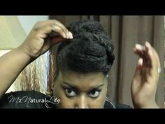 {23} 5 Quick & Easy Altered Pompadour Styles * Natural Hair Tutorial