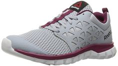 Reebok Women's Sublite Xt Cushion 2.0 WS Mt Running Shoe, Cloud Grey/Rebel Berry/White, 8 M US ** You can find more details by visiting the image link.