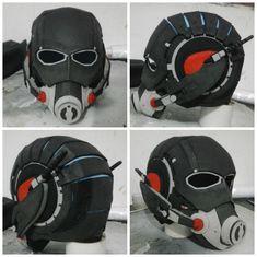 Ant-Man helmet cosplay prop wip