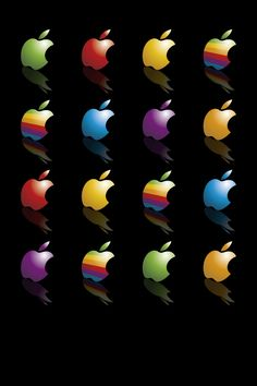 Ipad Mini Wallpaper, Iphone Logo, Apple Logo Wallpaper Iphone, Cellphone Wallpaper, Mobile Wallpaper, Baby Apple, Apple Picture, Phone Backgrounds, Iphone Wallpapers