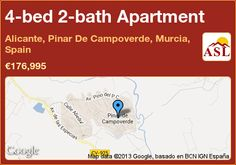 Apartment for Sale in Alicante, Pinar De Campoverde, Murcia, Spain with 4 bedrooms, 2 bathrooms - A Spanish Life Alicante, Apartments For Sale, Murcia Spain, Solar Water, Water Heating, Central Heating, Terrace, Swimming Pools, Dates