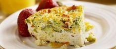 Kripalu Recipe: Broccoli and Cheddar Quiche with Quinoa Crust