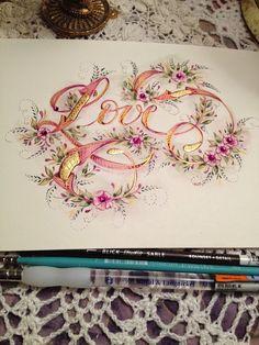 Ink Flourishes: