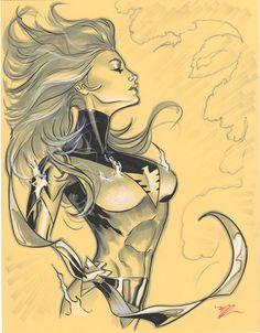 Phoenix con drawing by MichaelDooney.deviantart.com on @deviantART