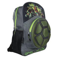 "Teenage Mutant Ninja Turtle Hard Shell Neoprene 16"" Backpack"