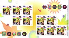 Girl Guides of Canada stamps 2010