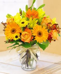 Field Picked Autumn Bouquet by City Line Florist #TrumbullFlorist #BossDay #Autumn