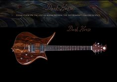 dark horse..becker guitars