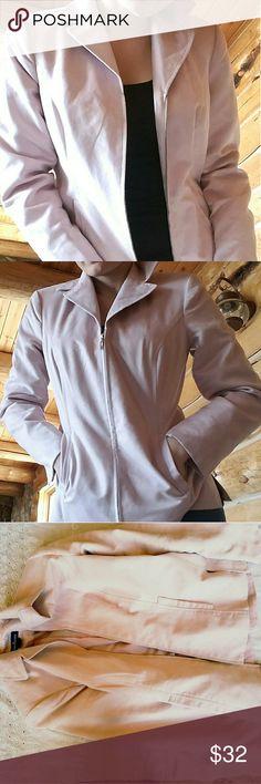 Selling this Pastel Pink Soft Blazer on Poshmark! My username is: kellodust. #shopmycloset #poshmark #fashion #shopping #style #forsale #Evan Picone #Jackets & Blazers