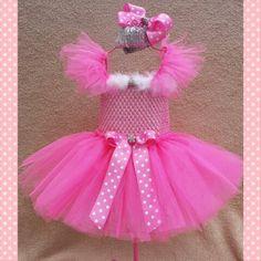 Girls barbie dress! www.facebook.com/danascarolinacutieshandmadedesigns