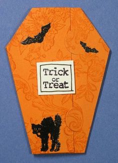 """Tricky"" ATC - Outside by Plain Jane - Cards and Paper Crafts at Splitcoaststampers"