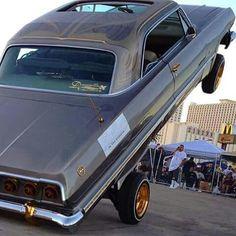 63 Chevy Impala hittin them switches.........