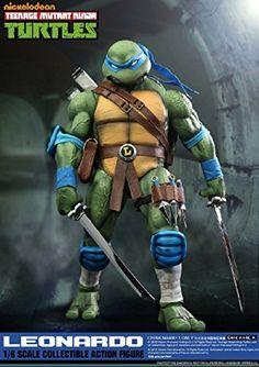 DreamEX Action Figure - Teenage Mutant Ninja Turtles Leonardo In Stock now. Ninja Turtle Toys, Ninja Turtles Action Figures, Ninja Turtles Art, Teenage Mutant Ninja Turtles, Teenage Turtles, Ninja 2, Tortugas Ninja Leonardo, Tmnt Characters, Marvel Comics