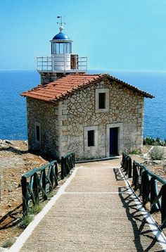 Lighthouse - Astros, Arcadia, Greece / by stat