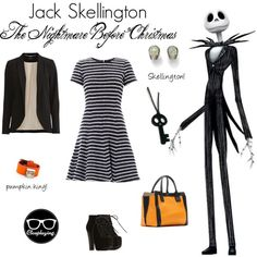 """""""Jack Skellington Closplay - Nightmare Before Christmas"""" by closplaying on Polyvore"""
