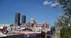 Cúpulas de la Catedral de Puebla, México