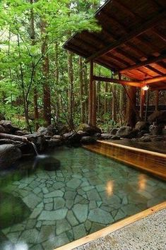 Beautiful Swimming Pool Garden Design Ideas Landscape design a . - Beautiful Swimming Pool Garden Design Ideas Landscape design a pool area is a diff - Natural Home Decor, Easy Home Decor, Natural Homes, Outdoor Spaces, Outdoor Living, Indoor Outdoor, Outdoor Bedroom, Outdoor Pool, Outdoor Decor