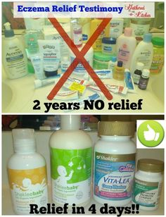 After over 2 years of prescriptions and doctors visits see how this mom took charge of her child's health and finally cured his eczema.