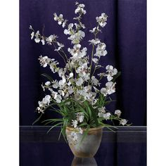 Nearly Natural 1005 Dancing Lady Silk Orchid Arrangement