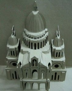 Kirigami Church Pattern 1 237x300 Kirigami   Church Pattern