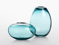 Calvin Klein glass vase