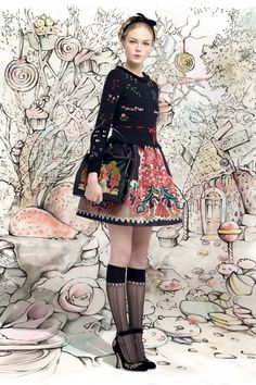 MerciChic : Red Valentino Autumn/Winter 2013-14