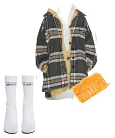"""""""On me"""" by omddck ❤ liked on Polyvore featuring Vetements"""