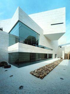 Minimalist Home in Pozuelo de Alarcon by A-cero Architects