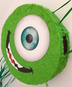 Baby Birthday Themes, Unicorn Themed Birthday Party, Minion Birthday, Superhero Birthday Party, Monster Pinata, Monster Inc Party, Monster First Birthday, Monster 1st Birthdays, Homemade Pinata